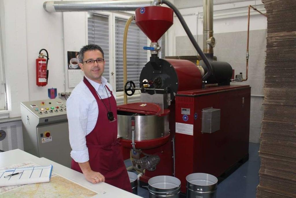 Italienischer Espresso in Deutschland mit Giuseppe Principe