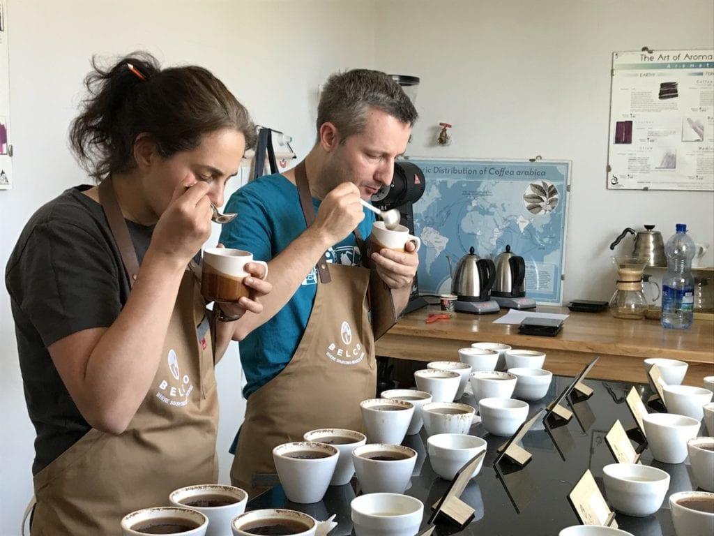 """Kaffeeschule """"Wo Kaffee-Profis sich weiterbilden"""" mit Nadine"""