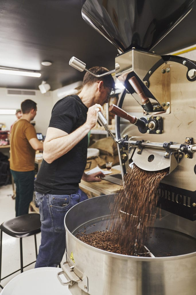 KB Coffee Roasters, artisan du café tendance à Paris
