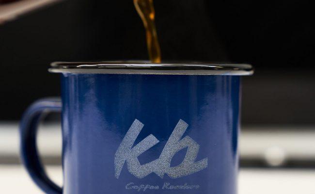 KB Coffee roasters tasse